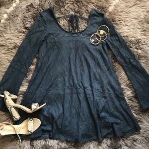 Navy Altar'd State dress